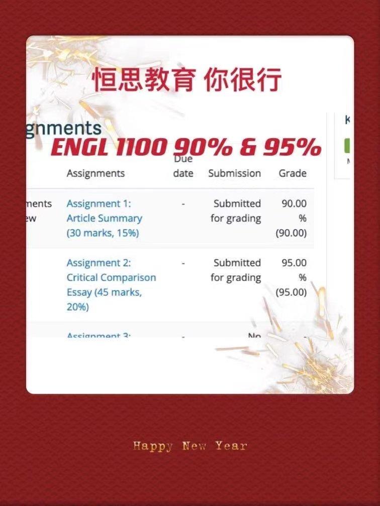 温哥华大学英语补习 - TRU补习/补课 - ENGL 1100