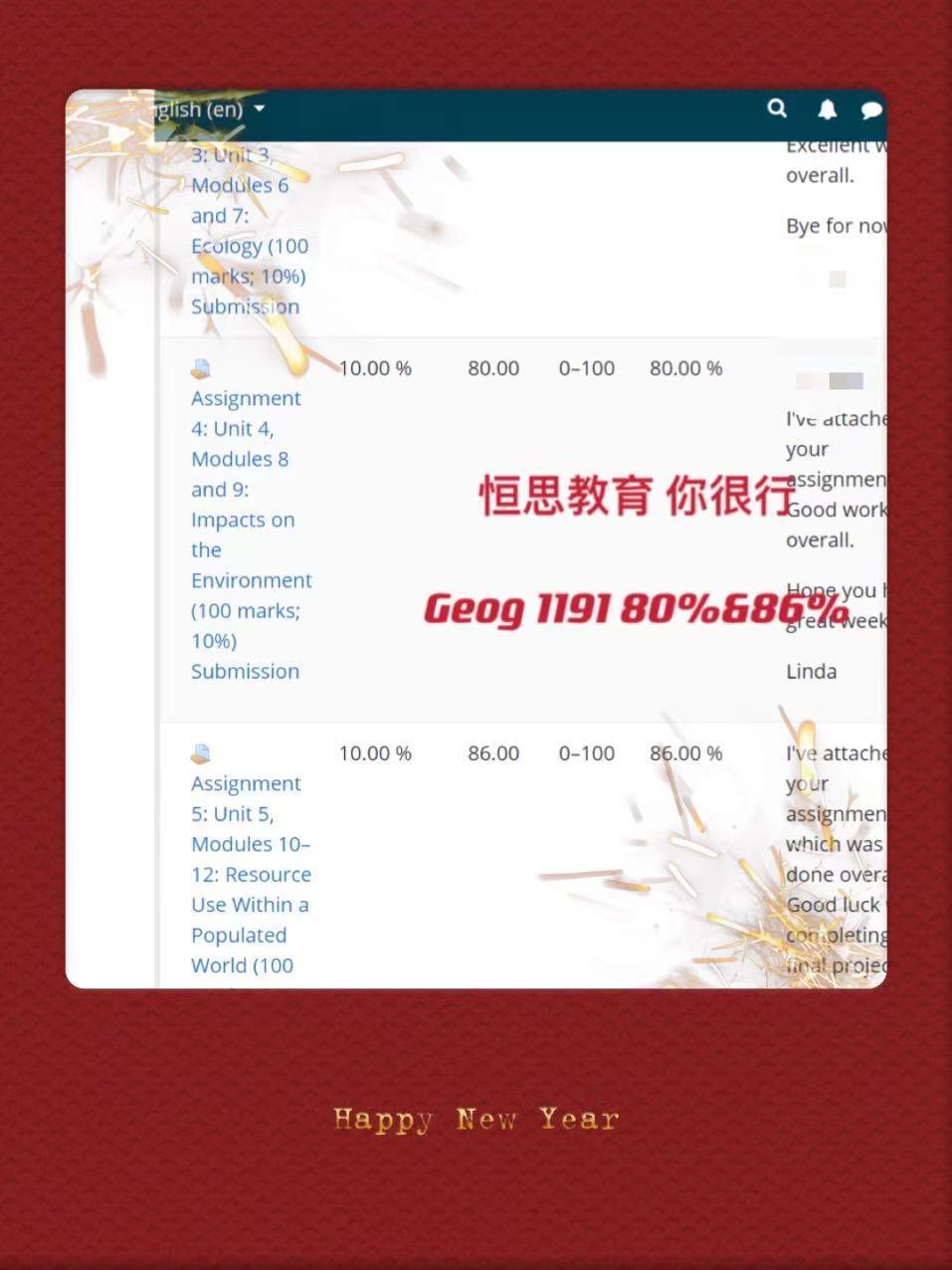 加拿大大学补习 - TRU补习/补课 - GEOG 1191